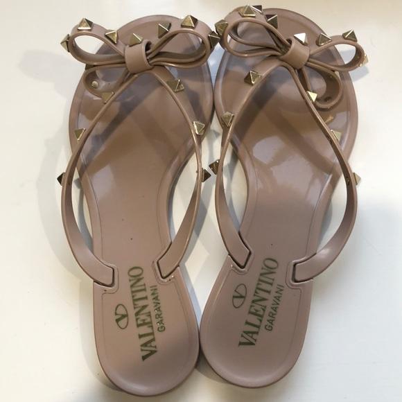Valentino Shoes - Valentino Garavani rockstar jelly thong